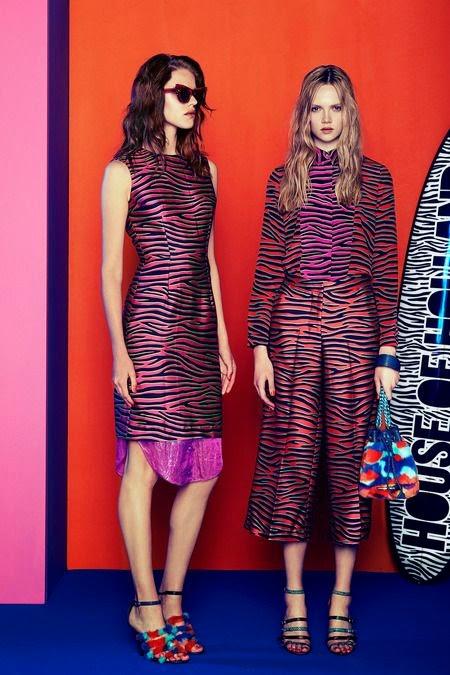 Tendência da moda 2015 - padrão zebra vestido