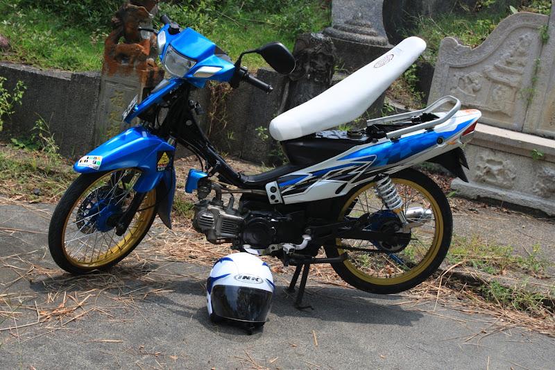 nah di atas itu merupakan Foto Modifikasi Motor Yamaha VEGA R dan ZR  title=