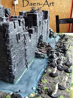 Ruiny zamku do gier bitewmych