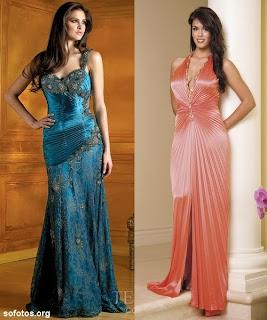 Veja alguns modelos de Vestidos de festa.
