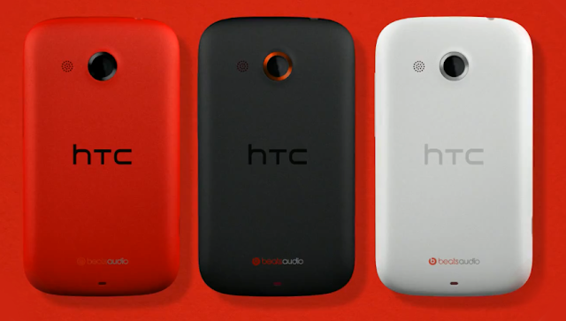 htc desire c colors red black white