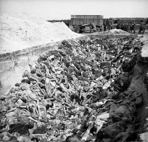 A DESUMANIDADE NAZISTA EM BERGEN-BELSEN I
