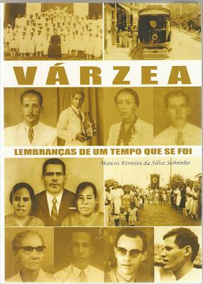 capa do livro de crônica Várzea