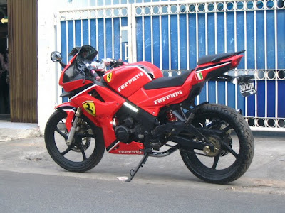 Foto Modifikasi Motor Rx King 2012