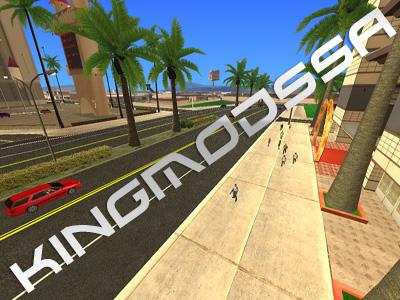 GTA SA - Novas ruas de SF