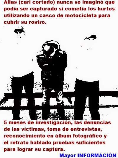 """FUSAGASUGÁ: SIJIN Y FISCALÍA PROTEGEN AL COMERCIO DE FUSAGASUGÁ. CAE """"CARICORTADO"""""""