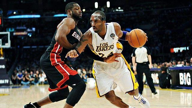 戴面具的Kobe不好惹!12年Kobe大戰熱火三巨頭(影)