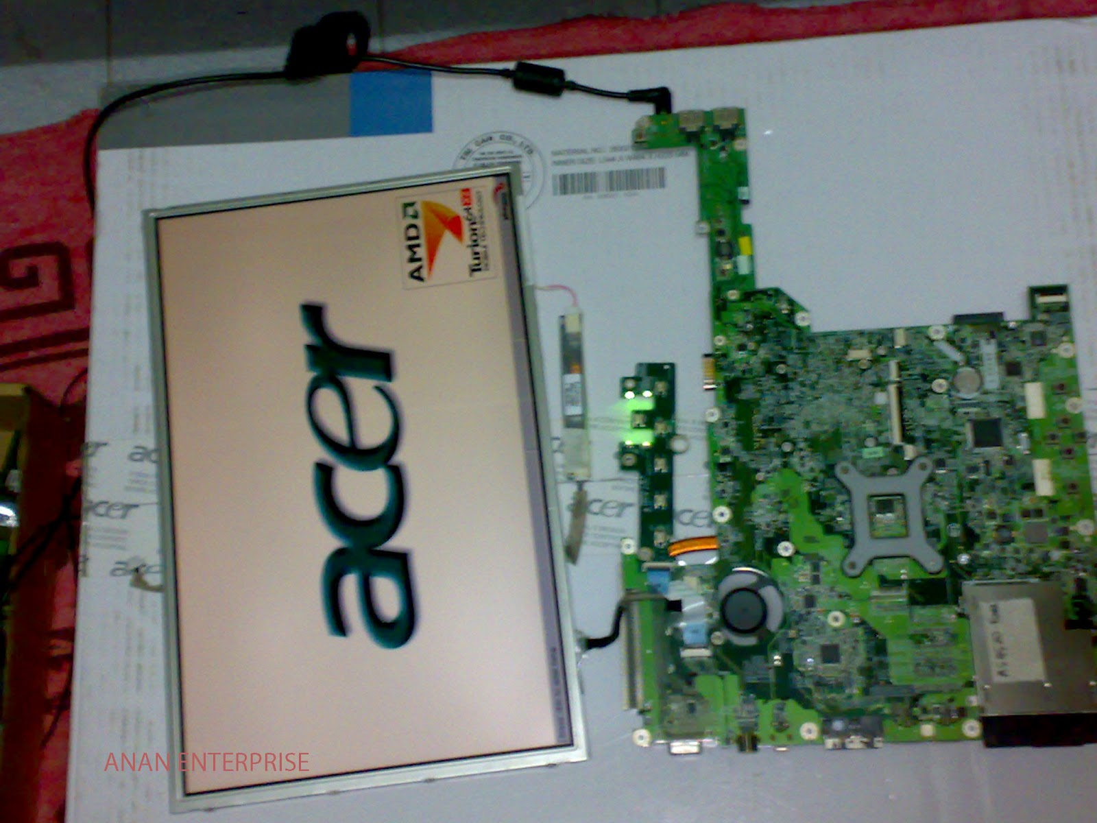 package including 1 pc motherboard no memory and cpu system and