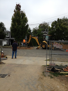 Building our dream home from the ground up september 2012 for Digging ground dream meaning