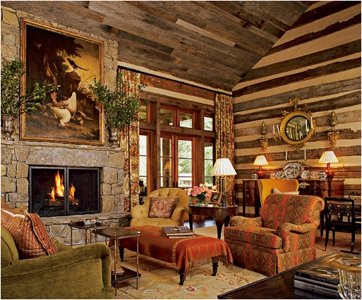 Rustic Country Home Interior Design (4 Image)