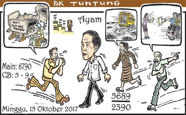 Prediksi Gambar Pak Tuntung Minggu 15 10 2017