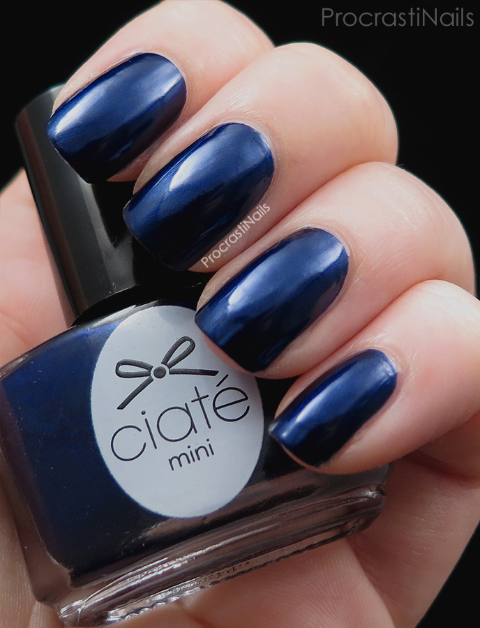 Swatch of Knee Highs from the 2014 Ciaté Mini Mani Manor Advent Calendar