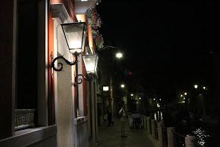 velence - esti fények