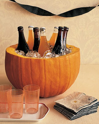 Halloween Party, Pumpkin Ice Bucket, Pinterest, Cooler