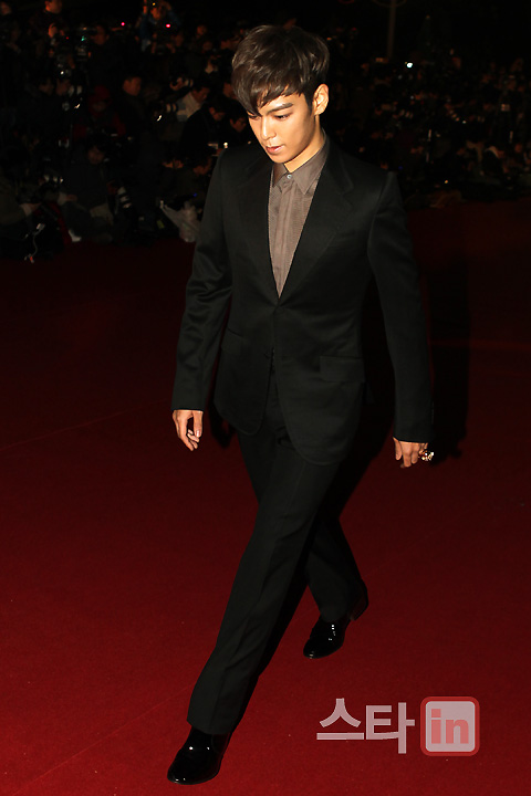 Big Bang TOP at Blue Dragon Film Awards