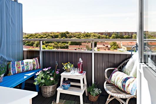 I consigli di irene arredare balconi e terrazze for Arredare balconi piccoli