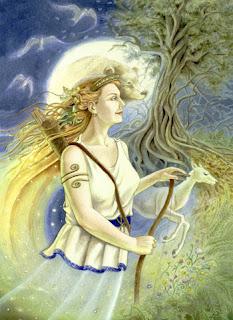diana. diosa flora y fauna