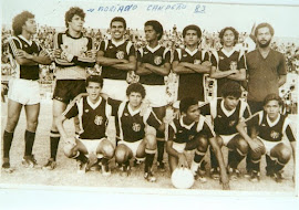 Juvenil do Central campeão Pernambucano de 83