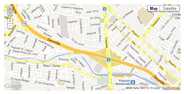 Add Google Maps to website using jQuery – Googal Map