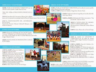 La Algaba - Programa de la Feria 2014