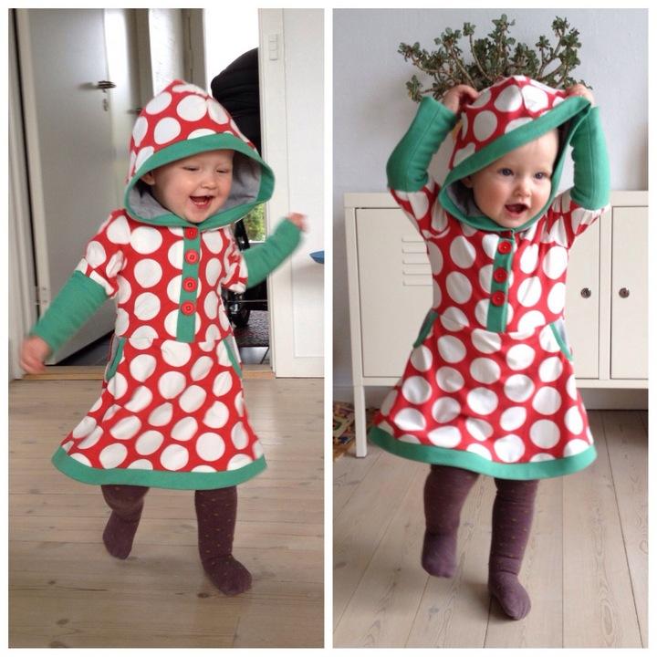 kjole mønster børn