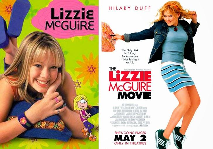 Hilary Duff fue 'Lizzie McGuire' en cine y televisión