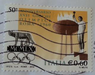 anniversario XVII giochi olimpici Roma 1960