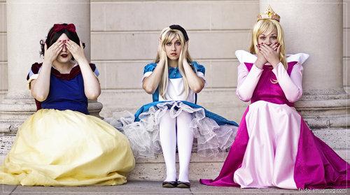 tre principesse