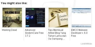 Related Post LinkWithin untuk Blog