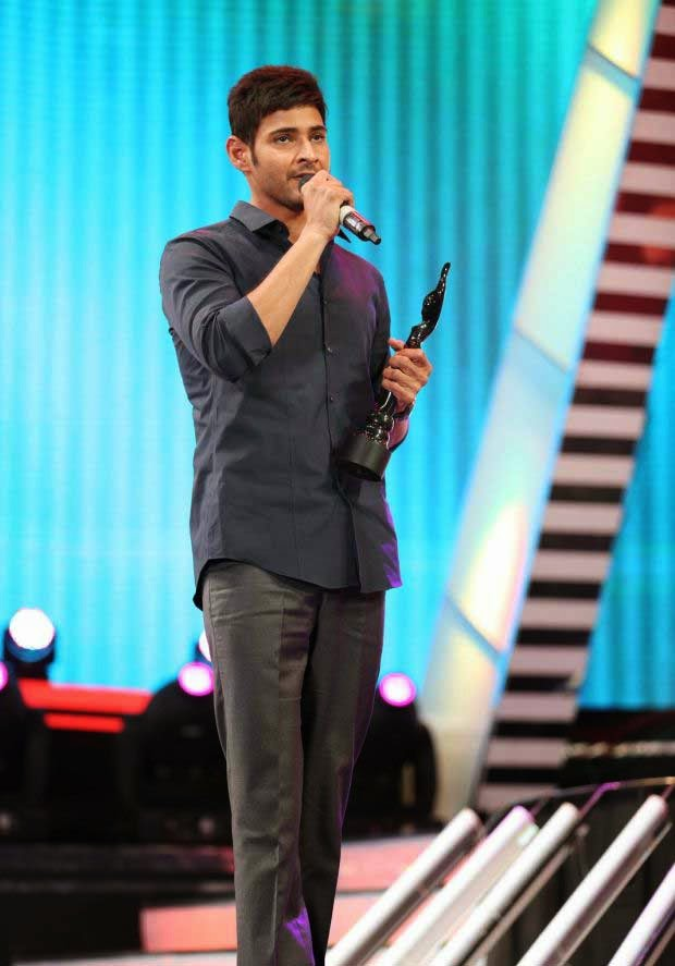 Mahesh Babu at 61st Idea Filmfare Awards 2013 (South)