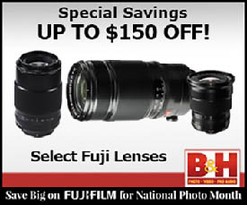 SAVINGS ON FUJI LENSES!
