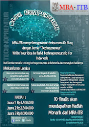 + Blog Competition MBA - ITB
