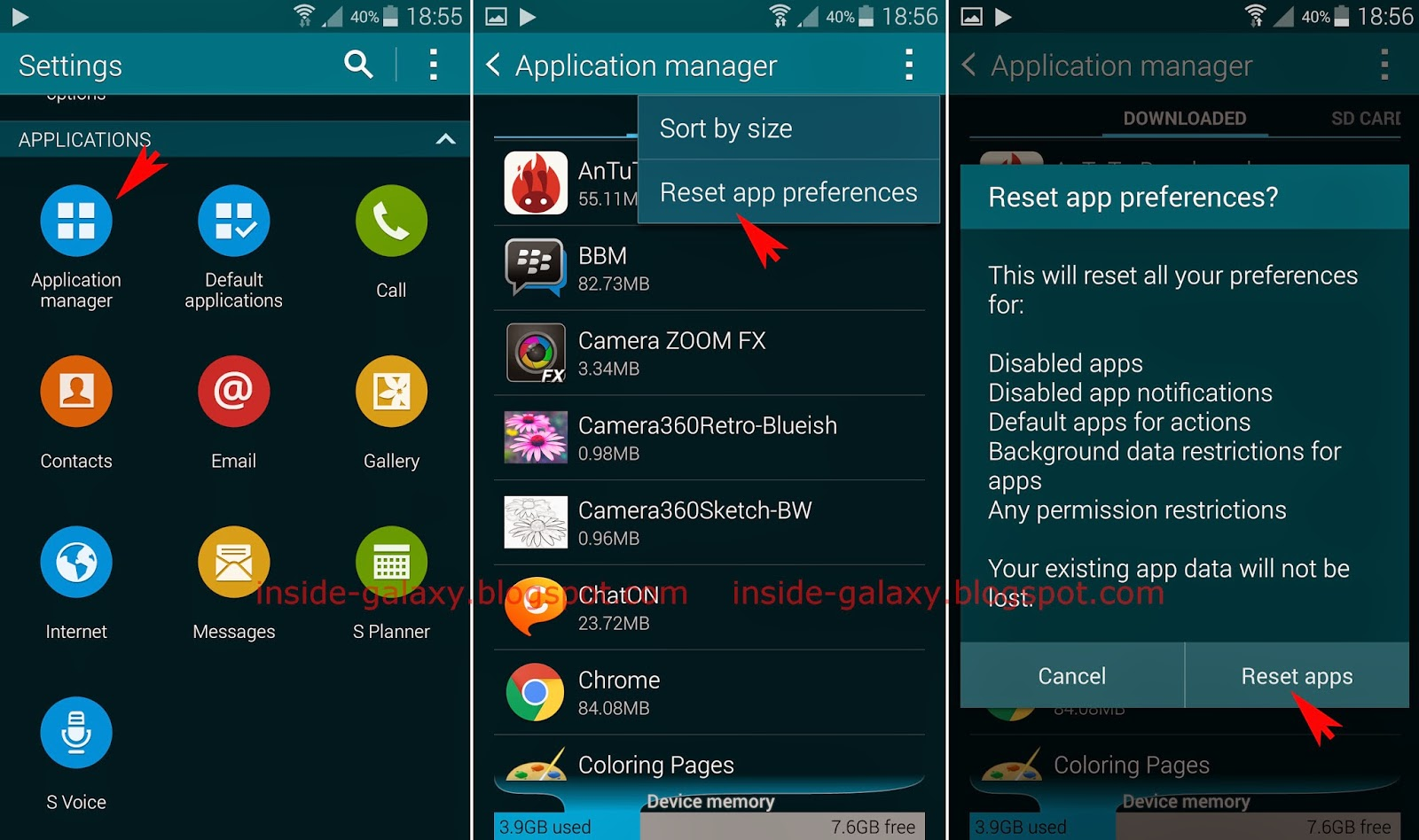 Samsung galaxy s5 how to reset app preferences in android 442 kitkat inside galaxy publicscrutiny Choice Image