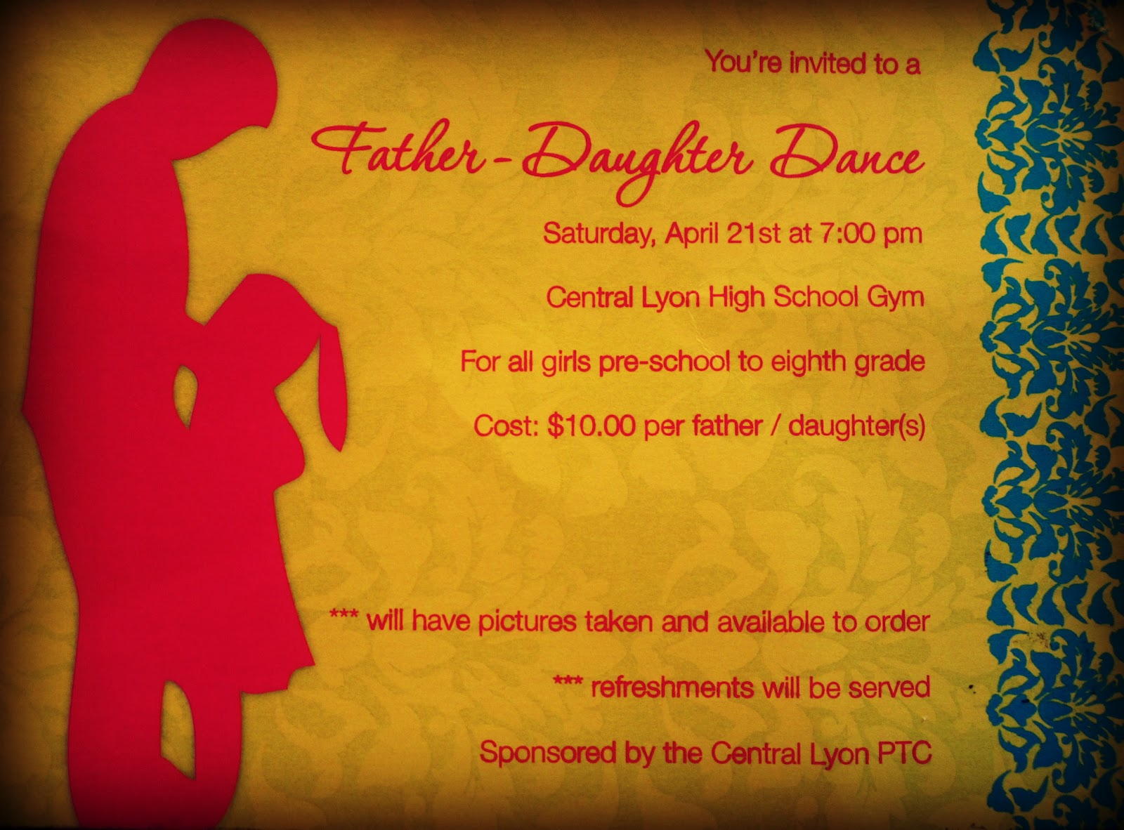 Father Daughter Dance 2012 Life Love and Laughter in a Large Family