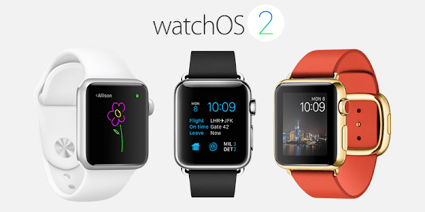 Apple Watch OS 2 announced