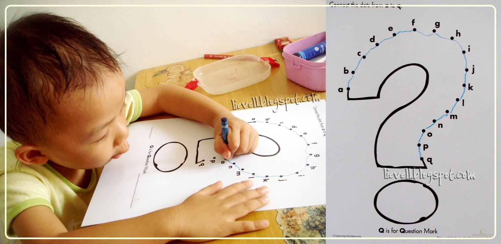 Preschool : Letter Q - Lievell