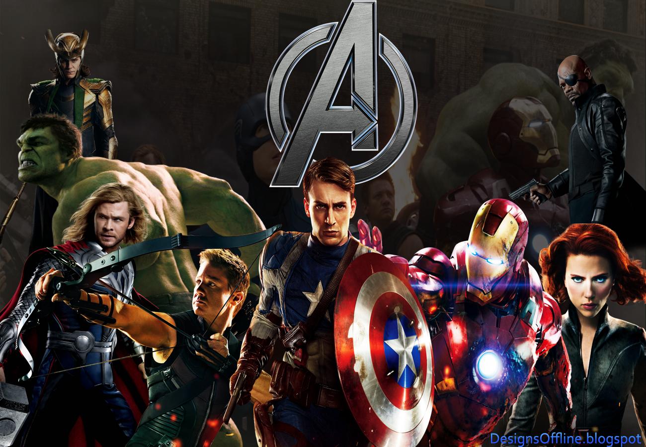 Wallpaper The Avengers Os Vingadores filme