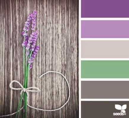 Paletas de colores hoy el lila decora y divi rtete - Que color combina con el morado ...