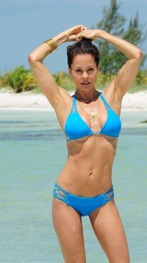 Brooke Burke in Bikini in Mexico (May 2013) - motherhood is about being their authentic, naked selves.
