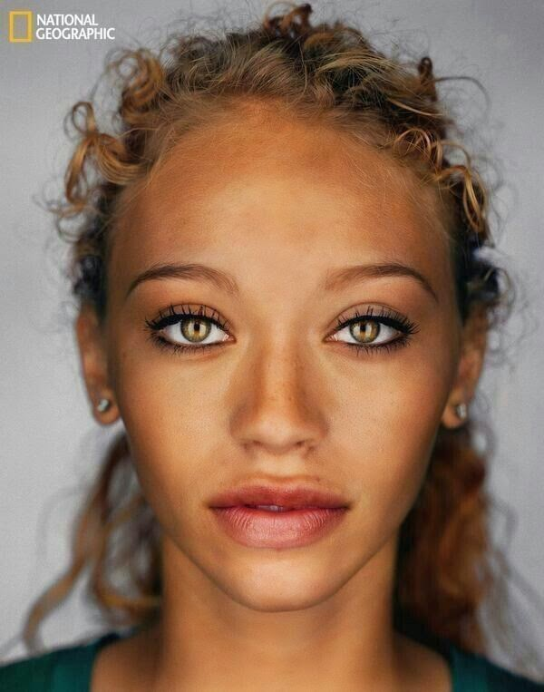 Why are mixed people so pretty