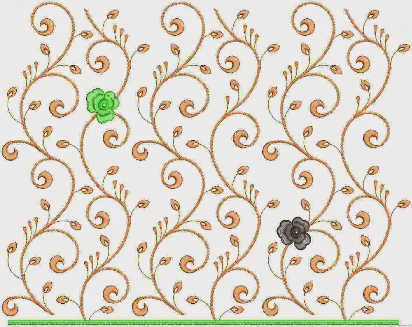 Assisi borduurwerk Dupatta