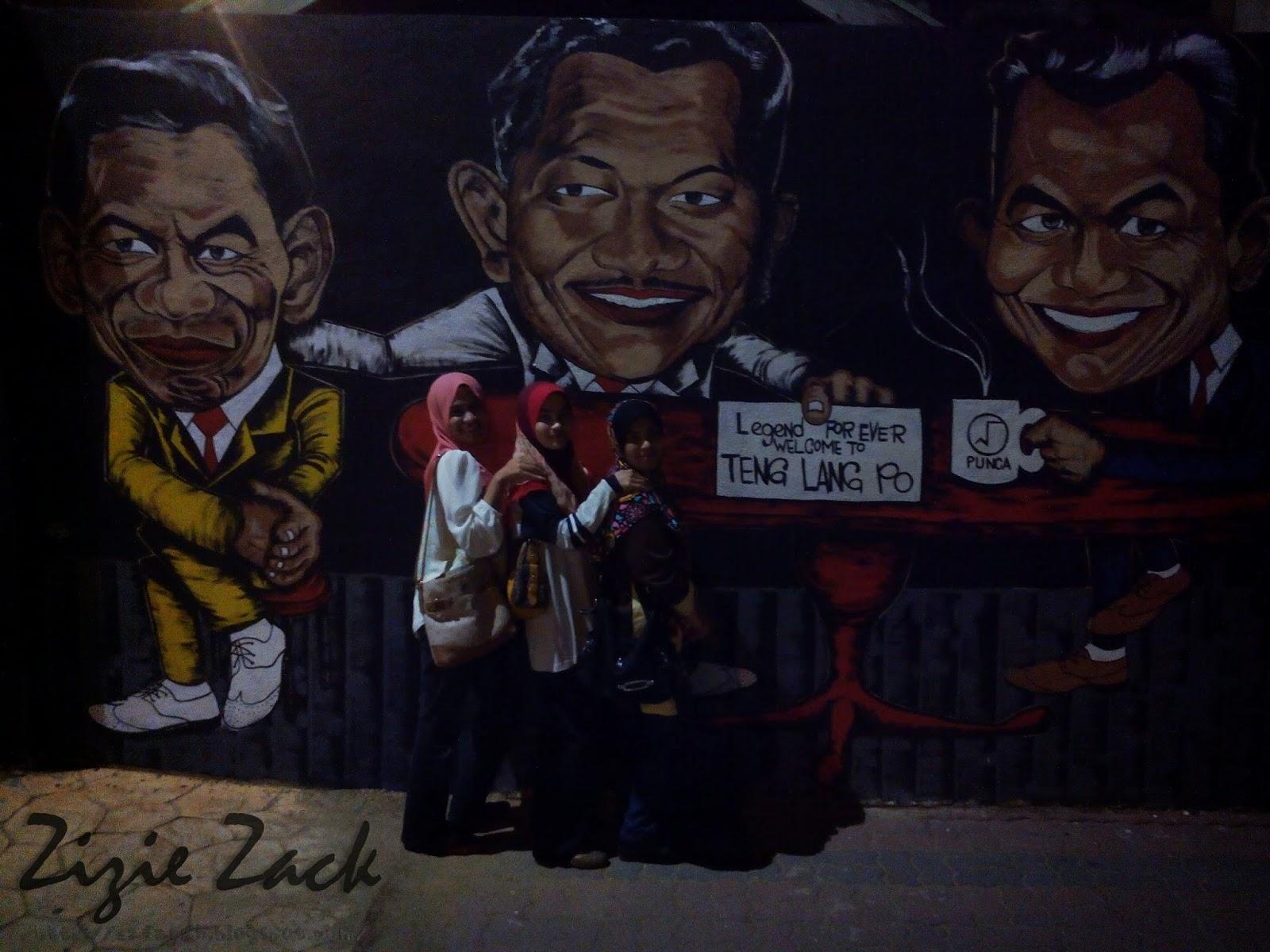 Gambar Mural Kampung Cina Kuala Terengganu