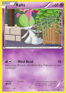 Ralts Legendary Treasures Pokemon Card