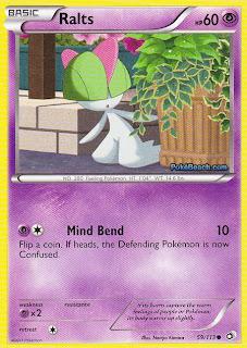 Ralts Legendary Treasures Pokemon Card