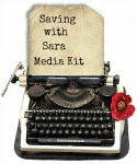 Saving with Sara Media Kit