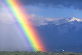 Attractive rainbow