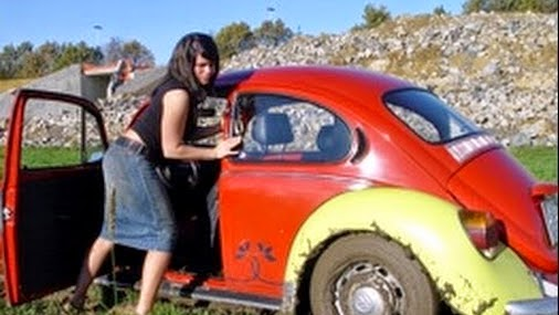 "Denise in ""The Bug-Stuck"" + Denise in ""Offroad-Test"""