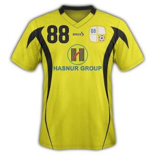 Jersey Baru PS Barito Putera Di ISL 2013-2014