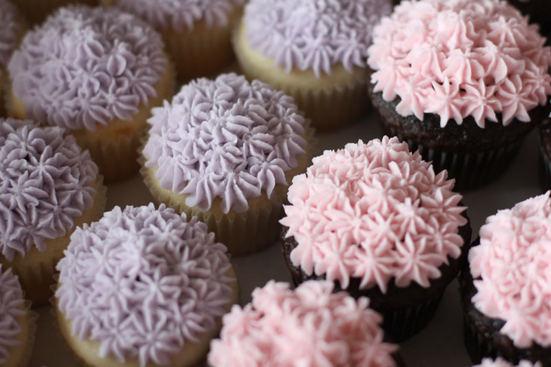 The Ganos Baby Shower Cupcakes