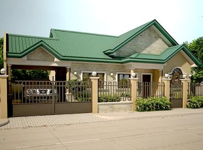 Desain Rumah 1 Lantai Bergaya Modern